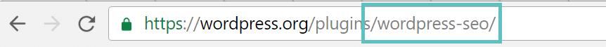 Nome do plugin de instalação do WP-CLI