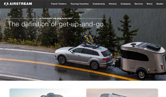 airstream wordpress sites