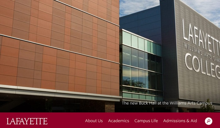 lafayette college wordpress sites
