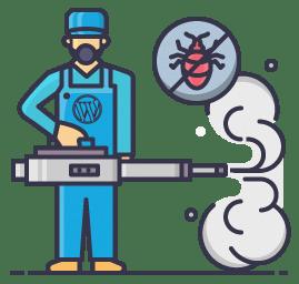 remoção de malware WordPress