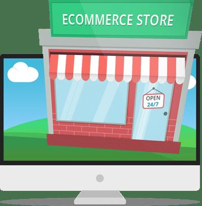 Loja de comércio eletrónico