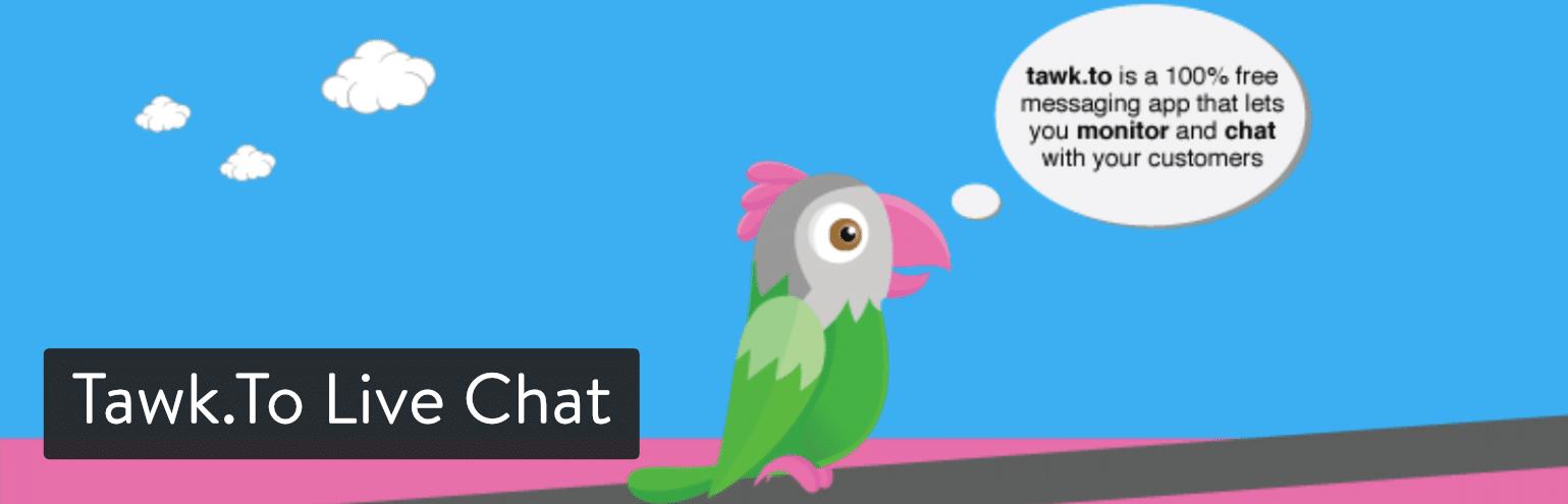 Tawk.To Live Chat WordPress plugin