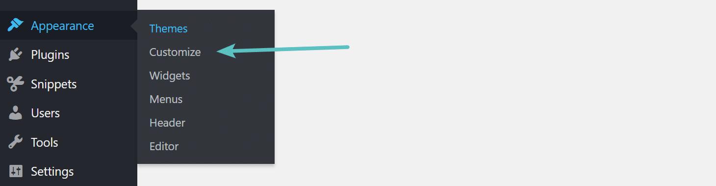 Personalize a aparência do WordPress