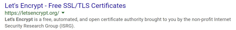 Certificados SSL/TLS