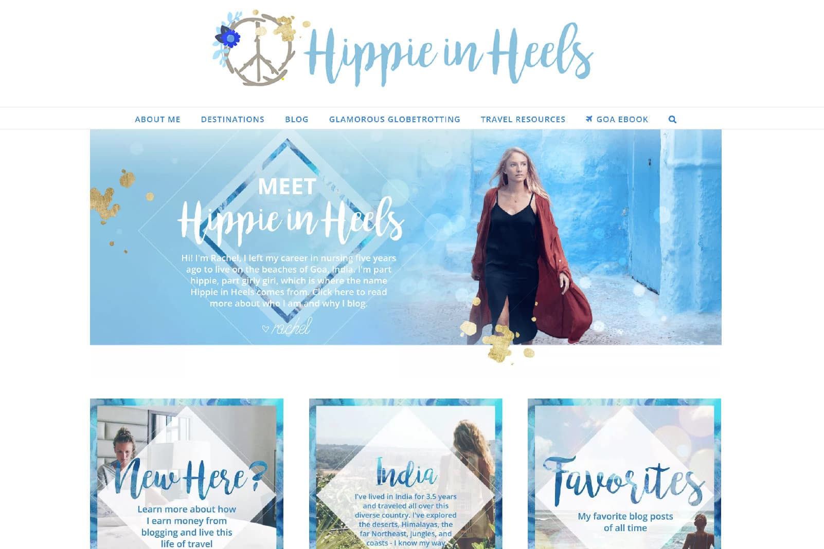 Blog de viagens Hippie in Heels