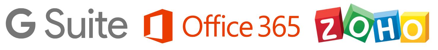 G Suite vs Office 365 vs Zoho