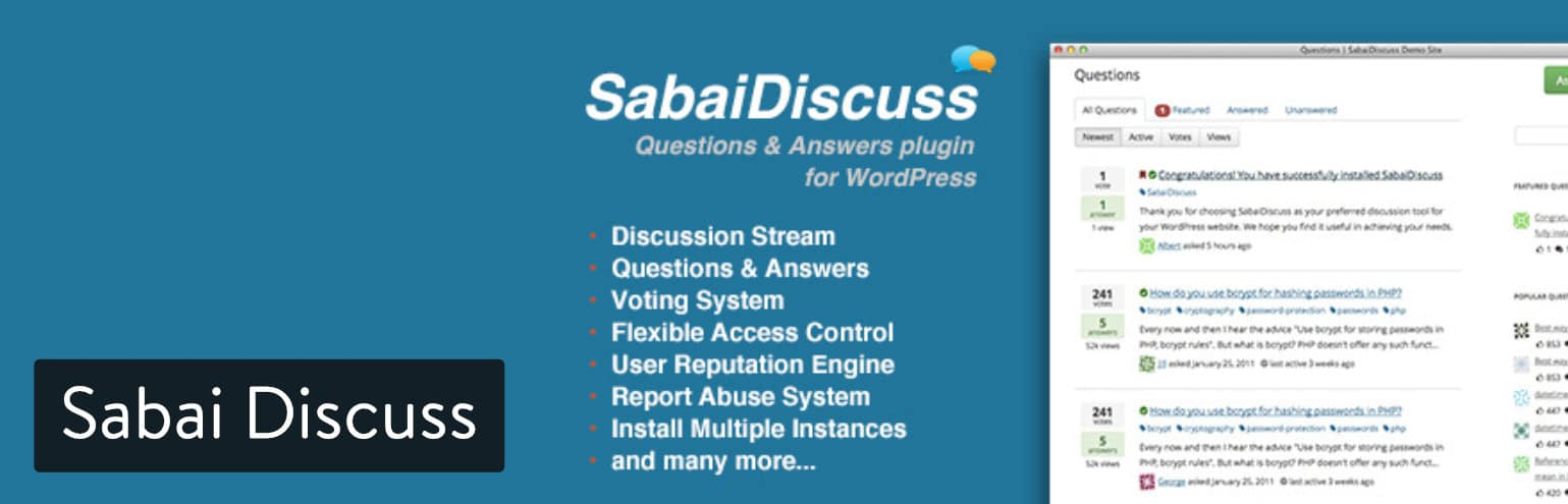 Sabai Discuss
