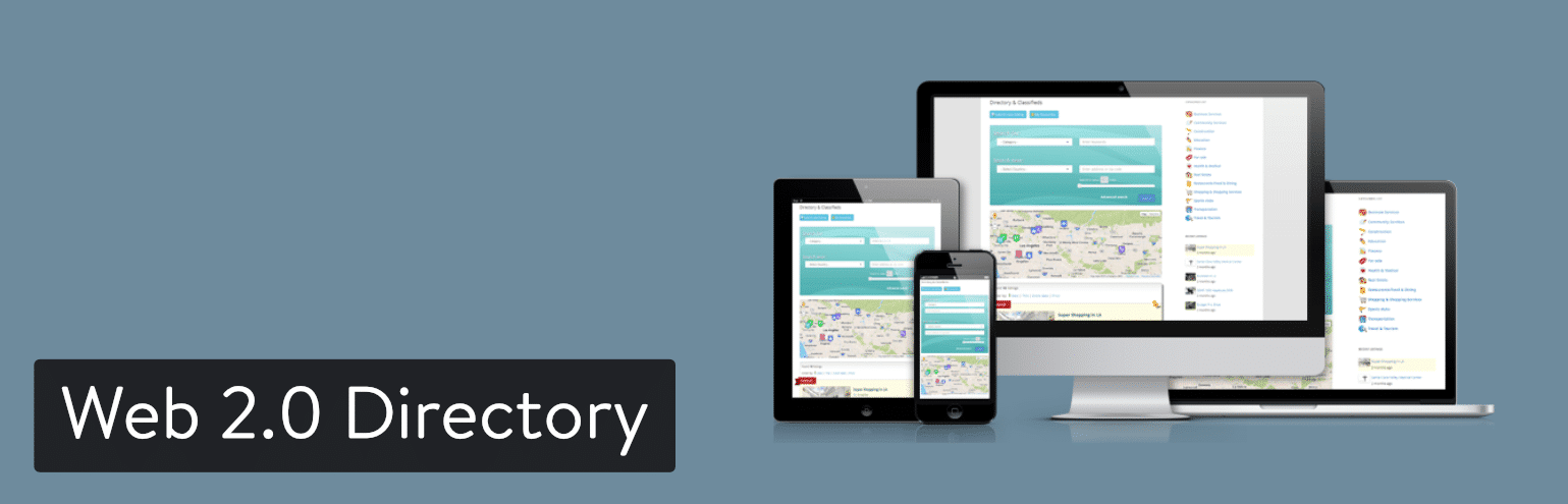 Web 2.0 Directory WordPress plugin