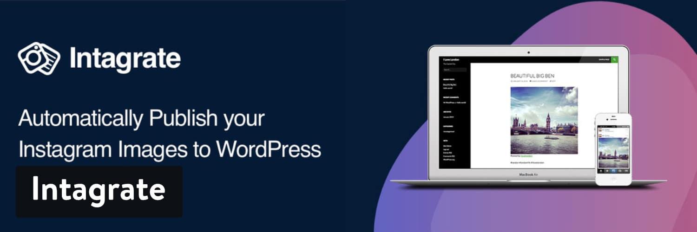 Intagrate WordPress plugin