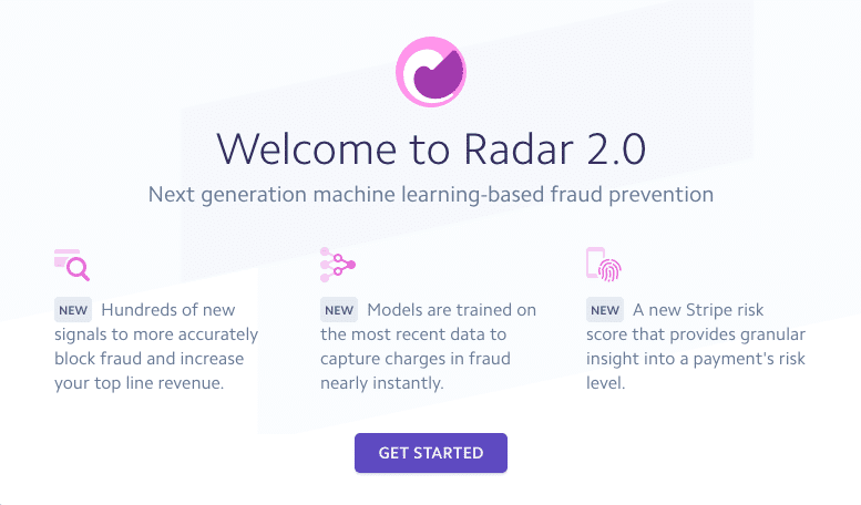 Stripe Radar 2.0