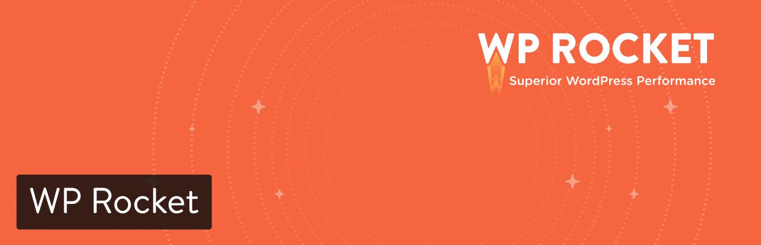 Plugin de armazenamento em cache WP Rocket para WordPress