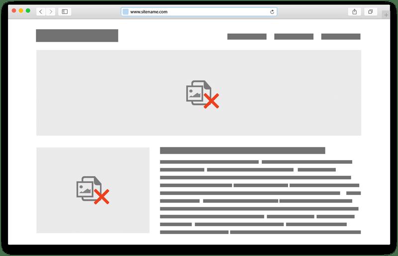 Websites de baixo desempenho