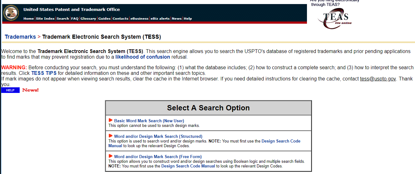 Escritório de Patentes e Marcas dos Estados Unidos