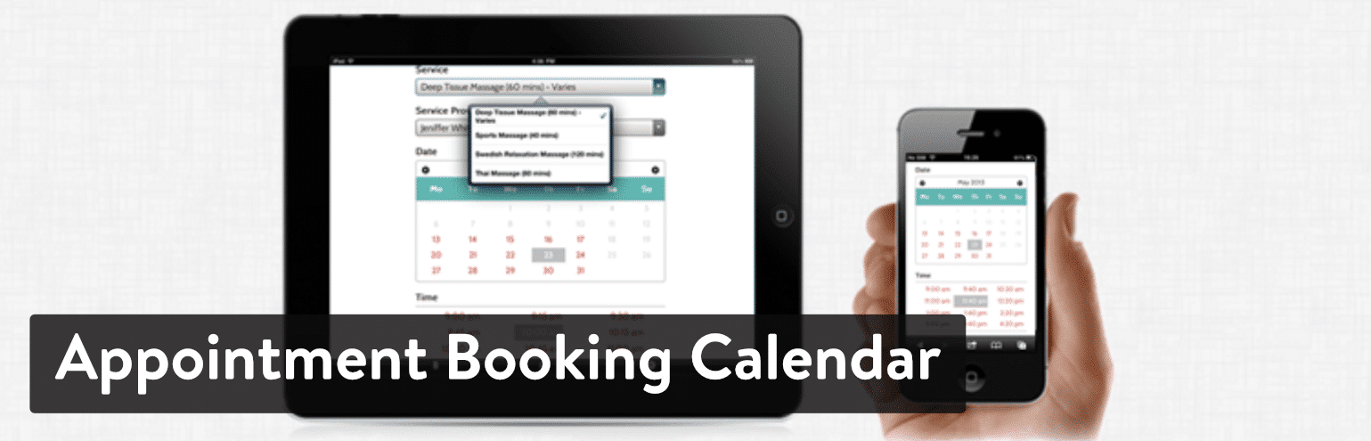 Plugin Appointment Booking Calendar by BirchPress