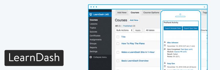 Plugin WordPress LearnDash