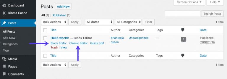 Permitir que os usuários escolham os editores
