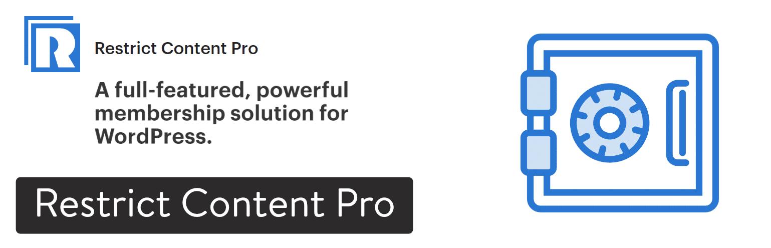Plugin WordPress Restrict Content Pro