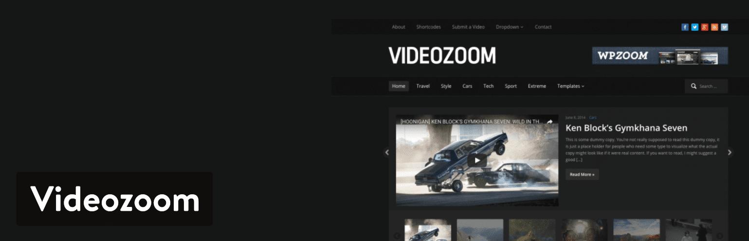 Videozoom WordPress plugin