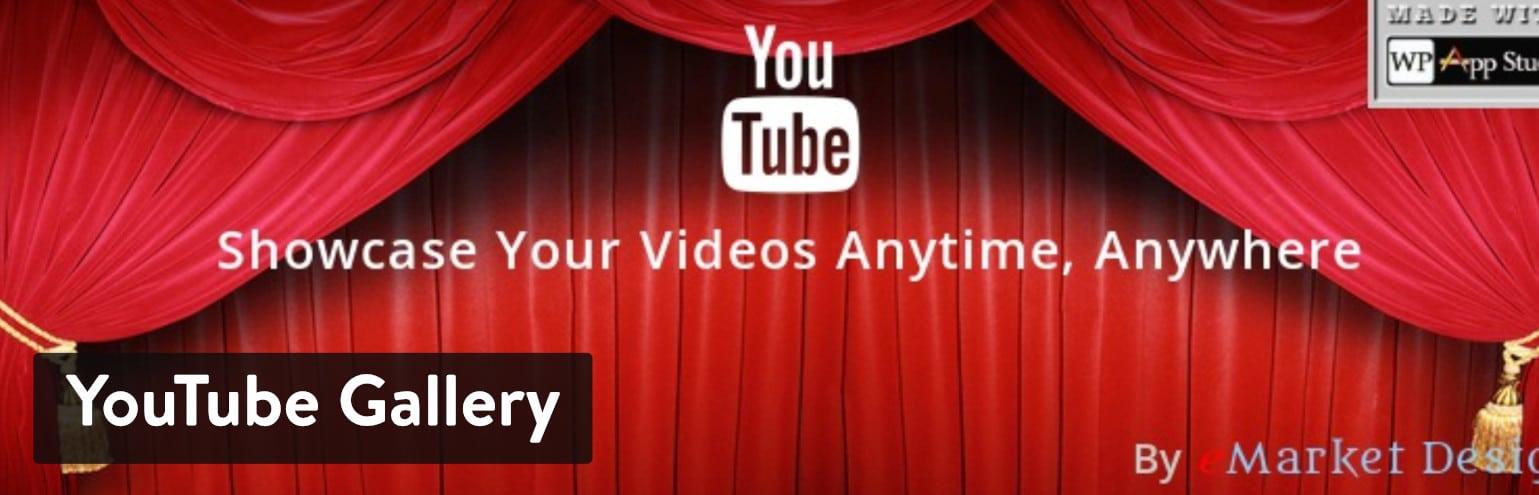 YouTube Gallery WordPress plugin