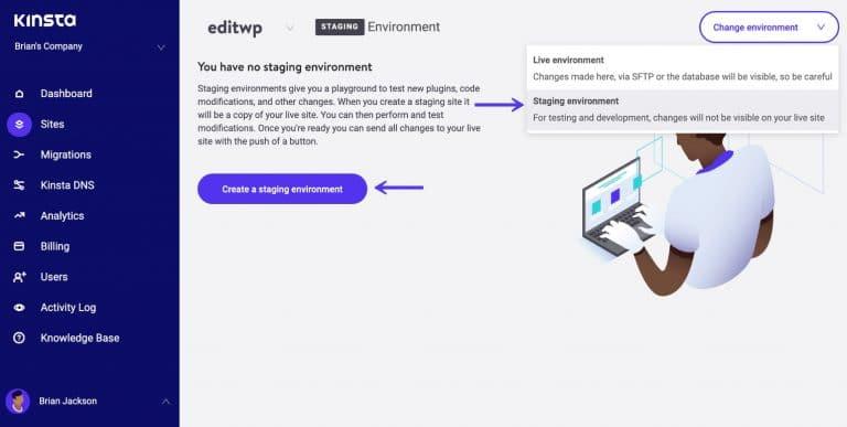 Criação de site de testes WordPress
