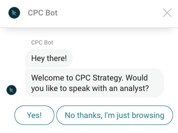 Perguntas do chatbot