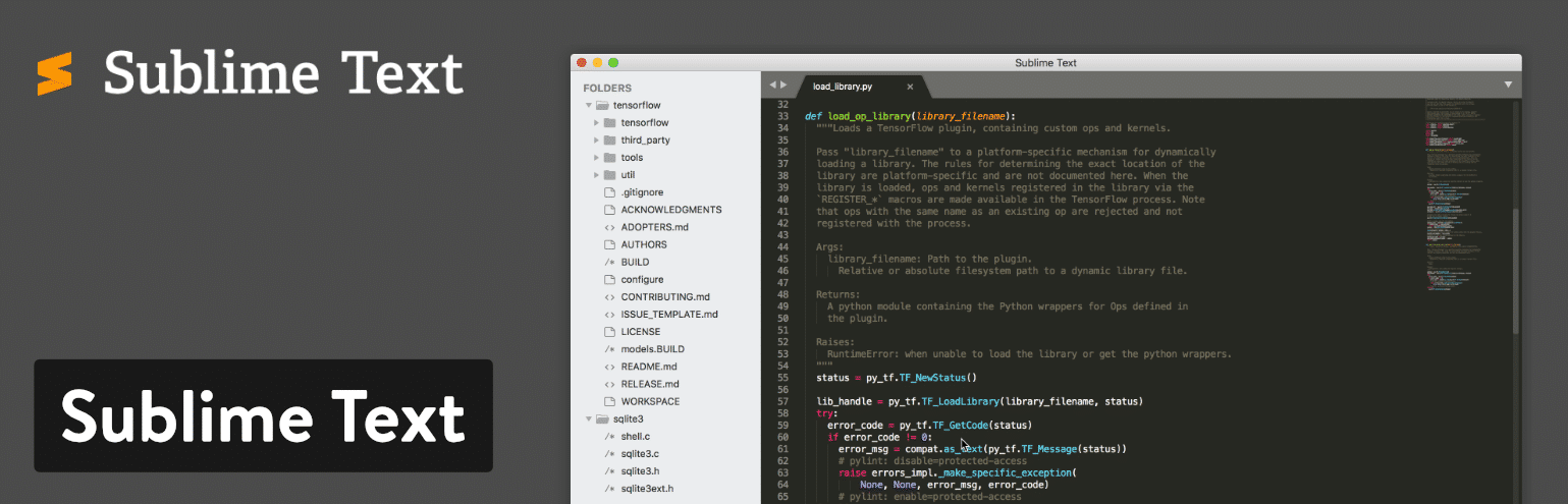 Editor Sublime Text