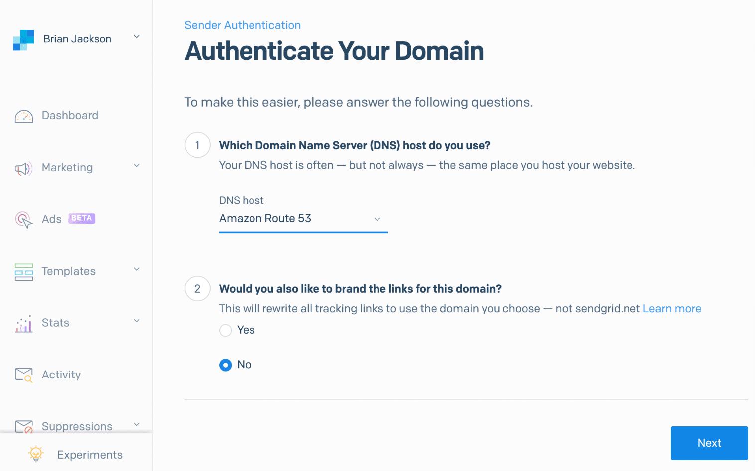 Host DNS