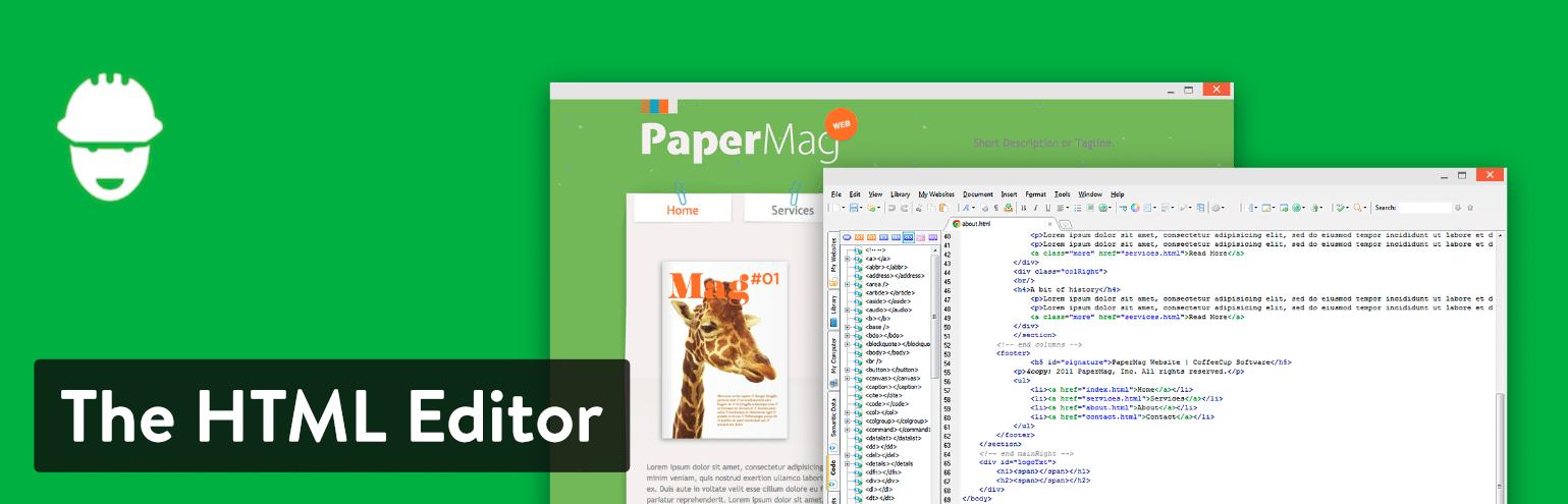 The HTML Editor da CoffeeCup