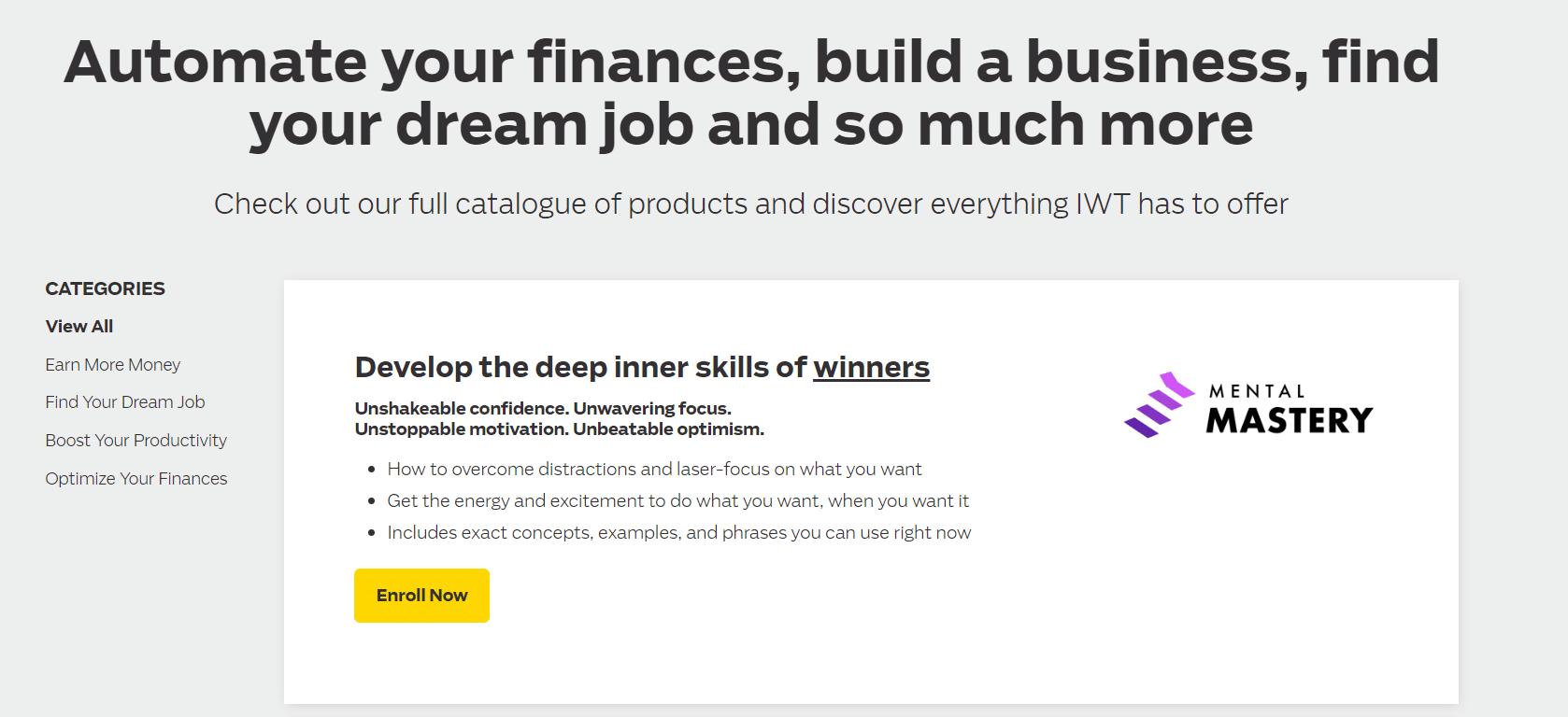 Curso financeiro