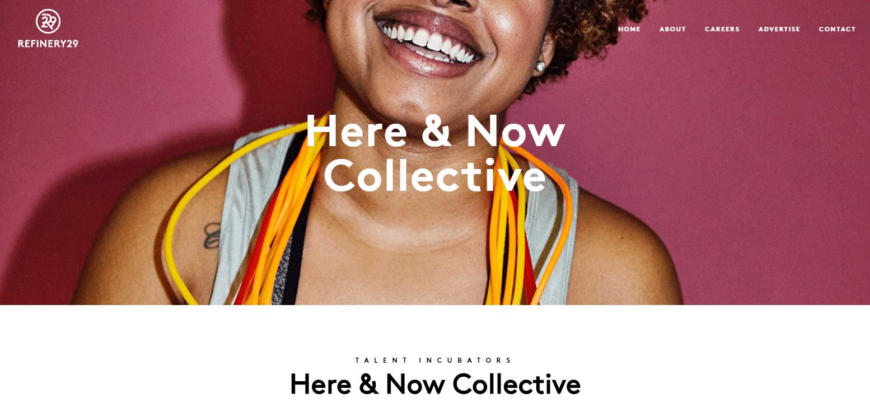 Programa de afiliados Here & Now Collective