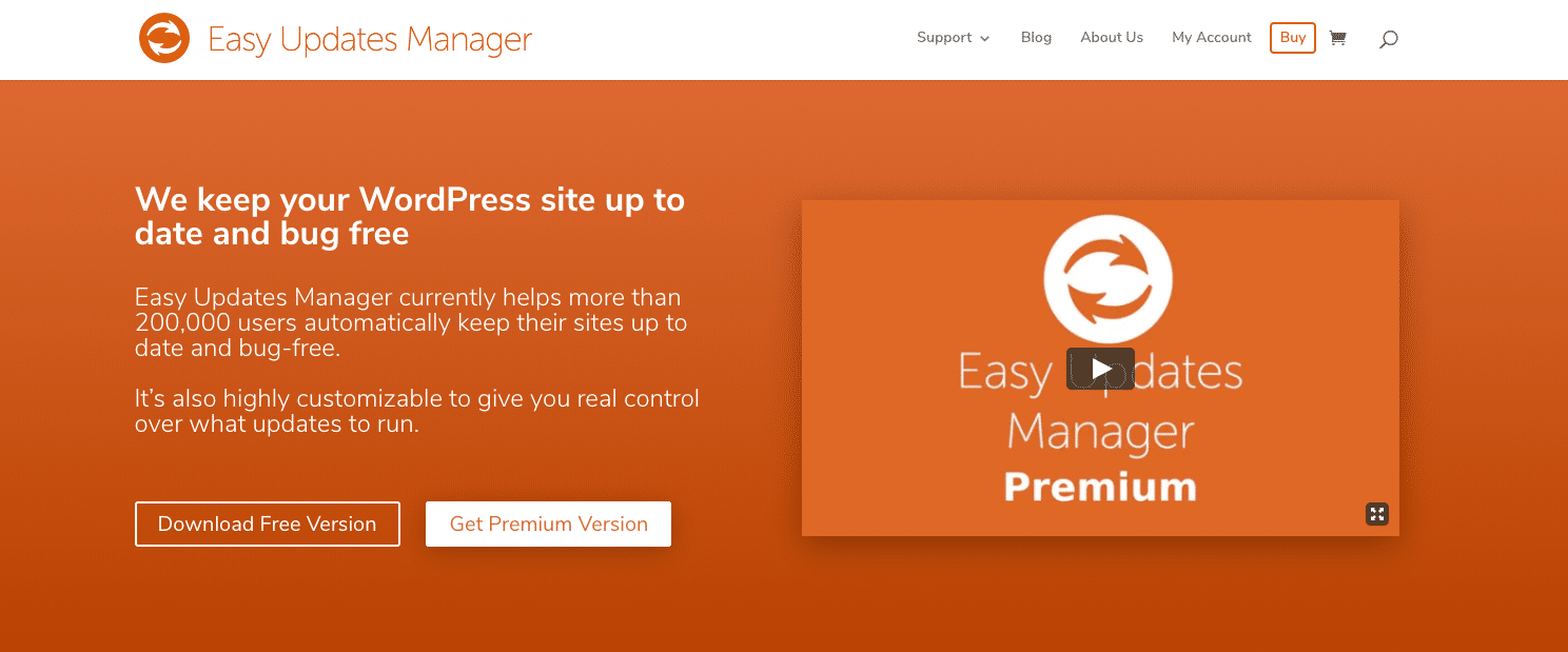 Plugin Easy Updates Manager