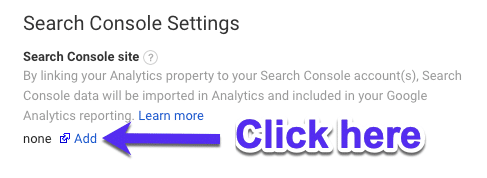 Como adicionar o GSC ao Google Analytics