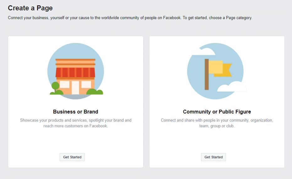 Como criar uma página do Facebook