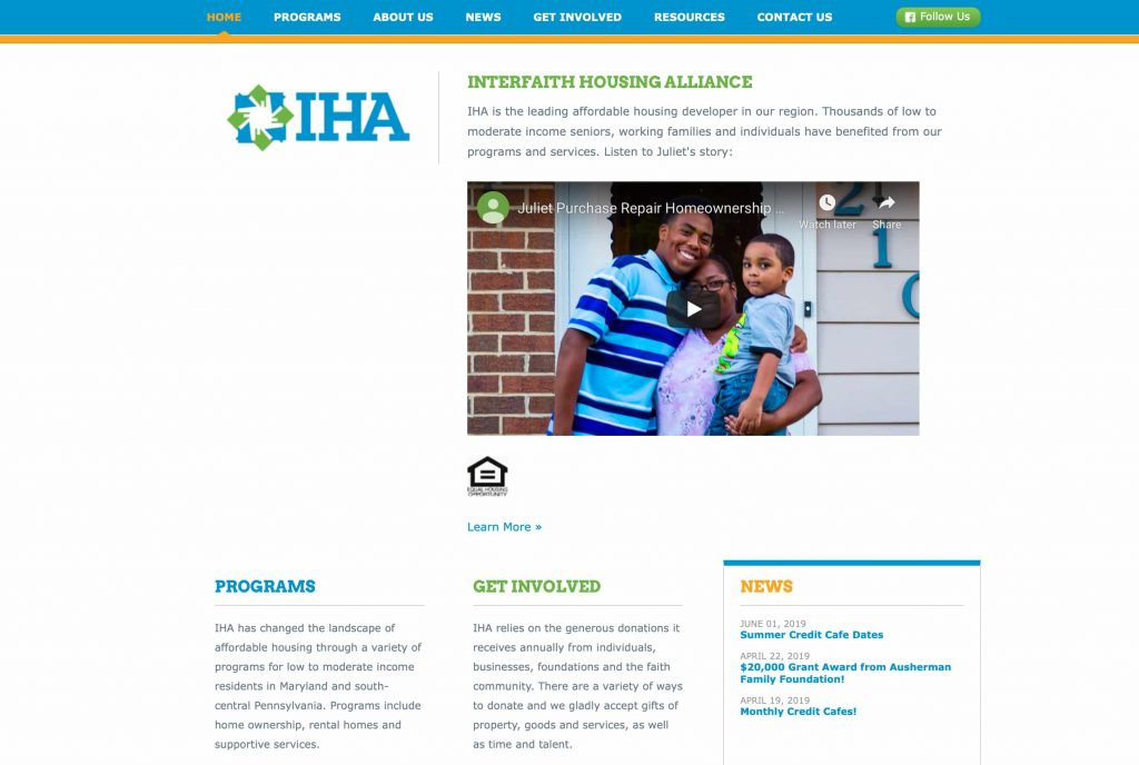 Interfaith Housing Alliance