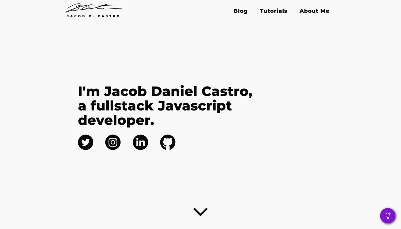 Portfólio de Jacob D. Castro