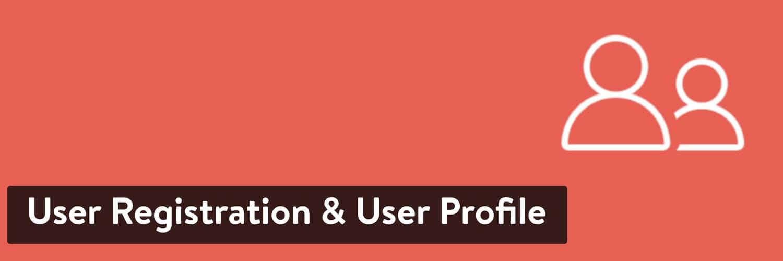 User Registration & User Profile WordPress plugin