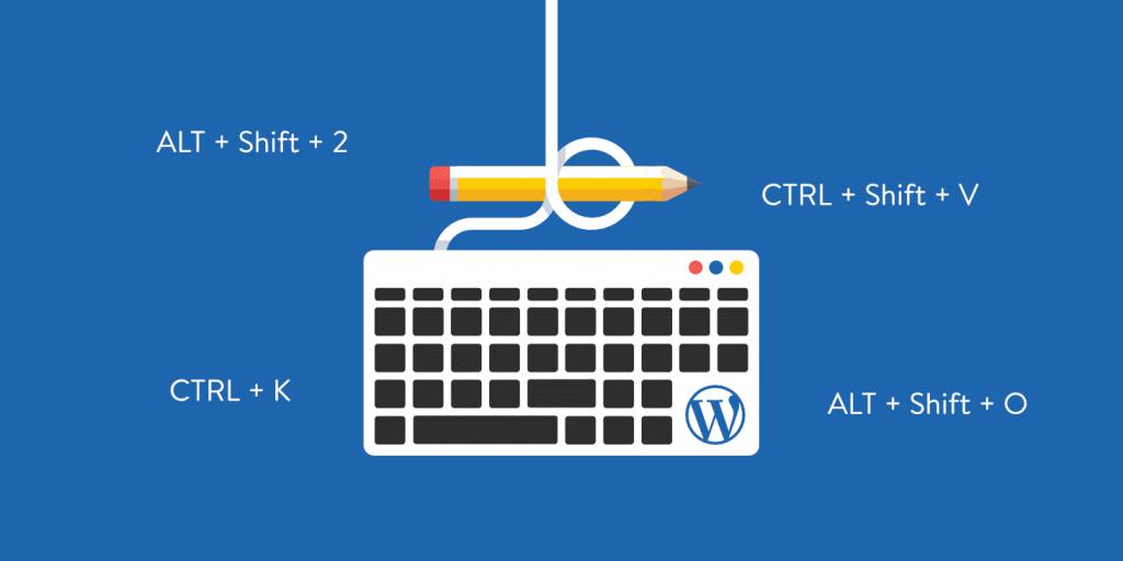 65+ Atalhos de Teclado WordPress para Escrita, Gutenberg + Mais