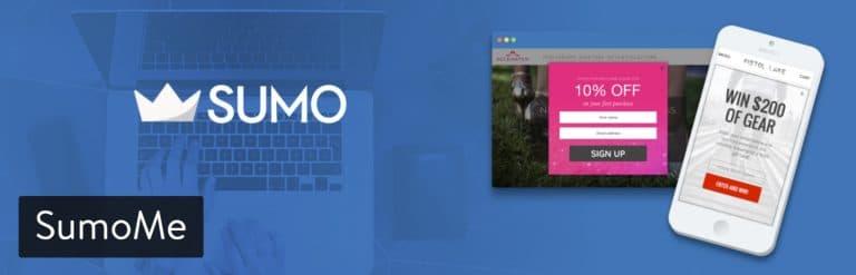SumoMe WordPress plugin