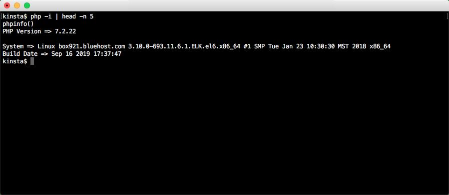 Determinação da versão do carregador ionCube