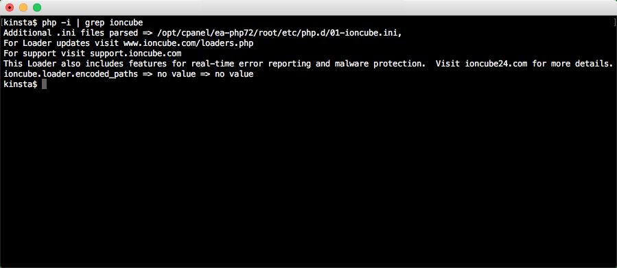 Exibir informações de configuração do PHP