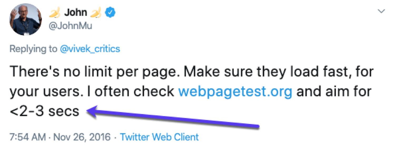 O conselho de John Mueller (do Google) para páginas de carregamento rápido