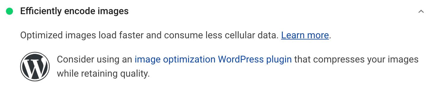 Recomendação de imagens codificadas com eficiência
