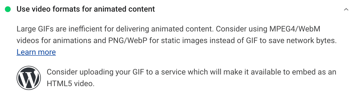 Use formatos de vídeo para recomendação de conteúdo animado
