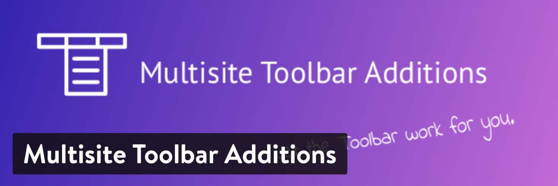 Multisite Toolbar Additions plugin WordPress