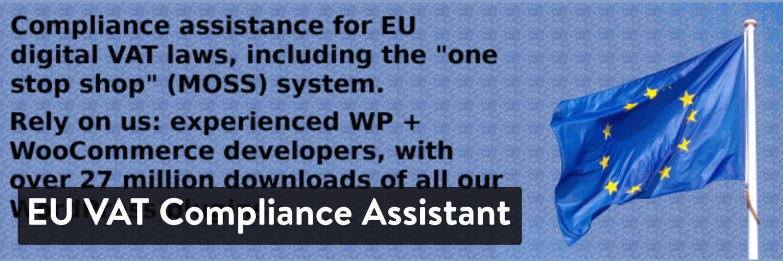 eu vat compliance assistant for woocommerce - 23 Melhores Plugins WooCommerce para Melhorar Ainda mais a Funcionalidade Incorporada da Sua Loja