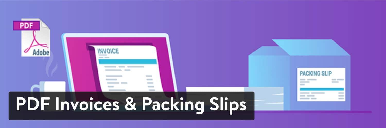 woocommerce pdf invoices packing slips - 23 Melhores Plugins WooCommerce para Melhorar Ainda mais a Funcionalidade Incorporada da Sua Loja