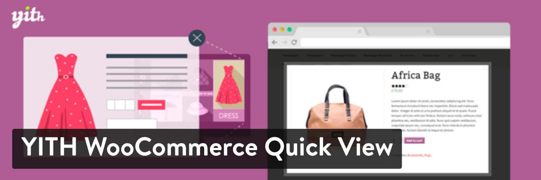 yith woocommerce quick view - 23 Melhores Plugins WooCommerce para Melhorar Ainda mais a Funcionalidade Incorporada da Sua Loja