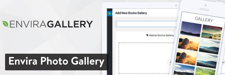 Galeria de Fotos Envira WordPress plugin