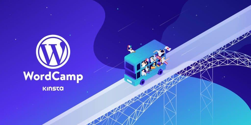 Junte-se à Kinsta no WordCamp Europa 2020 (Adquira sua Bolsa Virtual Grátis)