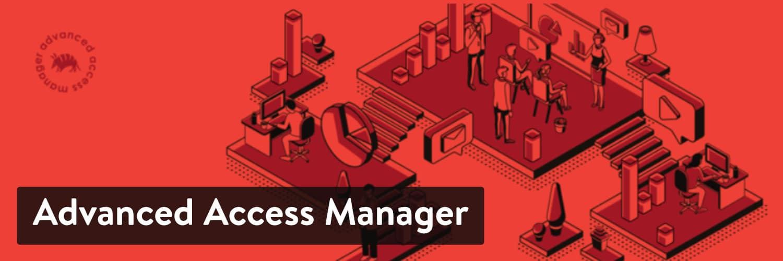 O plugin 'Advanced Access Manager'